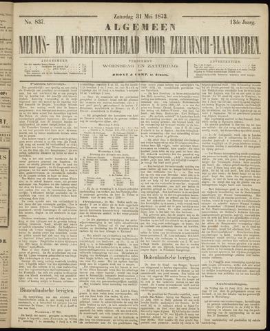 Ter Neuzensche Courant. Algemeen Nieuws- en Advertentieblad voor Zeeuwsch-Vlaanderen / Neuzensche Courant ... (idem) / (Algemeen) nieuws en advertentieblad voor Zeeuwsch-Vlaanderen 1873-05-31