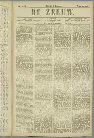 De Zeeuw. Christelijk-historisch nieuwsblad voor Zeeland 1891-12-12