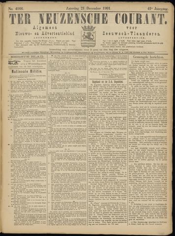 Ter Neuzensche Courant. Algemeen Nieuws- en Advertentieblad voor Zeeuwsch-Vlaanderen / Neuzensche Courant ... (idem) / (Algemeen) nieuws en advertentieblad voor Zeeuwsch-Vlaanderen 1901-12-21