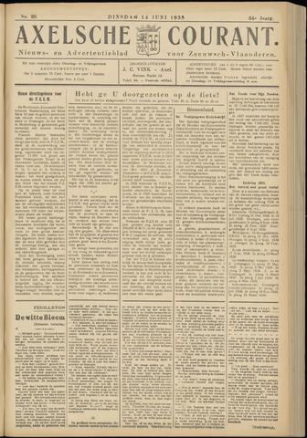 Axelsche Courant 1938-06-14