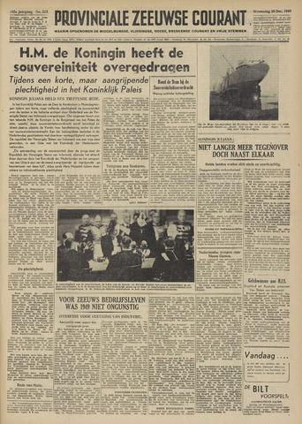 Provinciale Zeeuwse Courant 1949-12-28