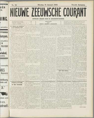 Nieuwe Zeeuwsche Courant 1906-01-23