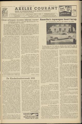 Axelsche Courant 1955-10-22