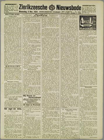 Zierikzeesche Nieuwsbode 1924-11-05