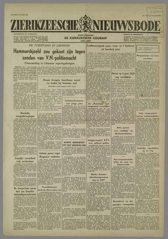 Zierikzeesche Nieuwsbode 1958-06-30