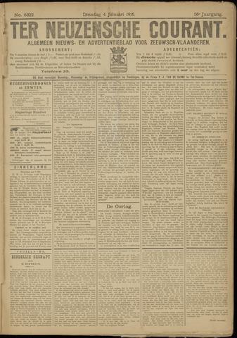 Ter Neuzensche Courant. Algemeen Nieuws- en Advertentieblad voor Zeeuwsch-Vlaanderen / Neuzensche Courant ... (idem) / (Algemeen) nieuws en advertentieblad voor Zeeuwsch-Vlaanderen 1916-01-04