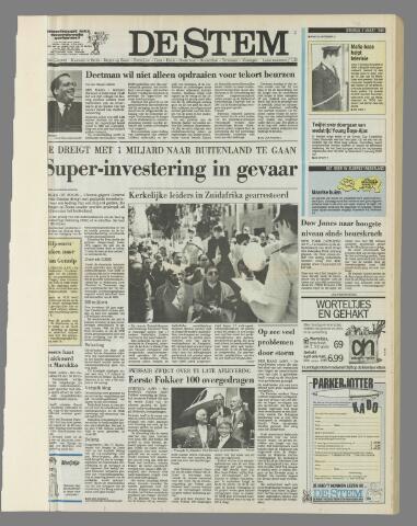 de Stem 1988-03-01