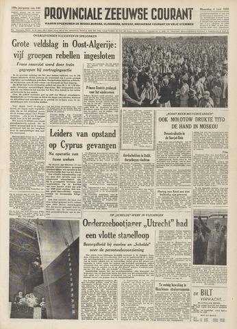 Provinciale Zeeuwse Courant 1956-06-04