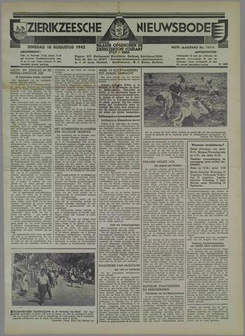 Zierikzeesche Nieuwsbode 1942-08-18