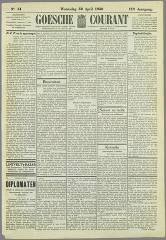 Goessche Courant 1930-04-30