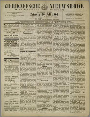 Zierikzeesche Nieuwsbode 1901-07-20