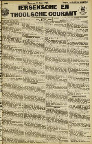 Ierseksche en Thoolsche Courant 1923-06-09