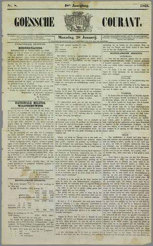 Goessche Courant 1861-01-28