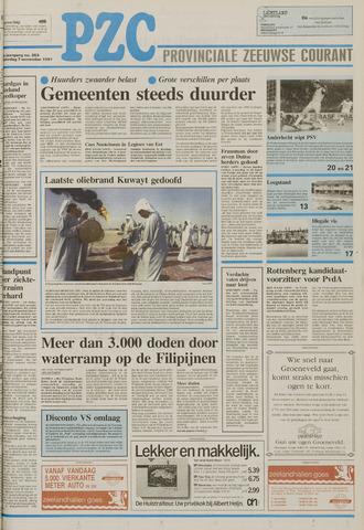 Provinciale Zeeuwse Courant 1991-11-07