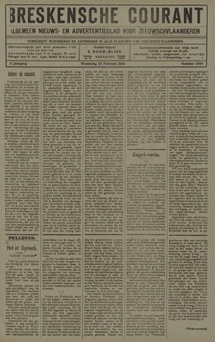 Breskensche Courant 1924-02-27