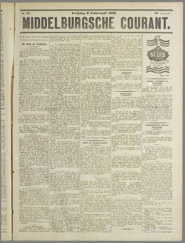 Middelburgsche Courant 1925-02-06