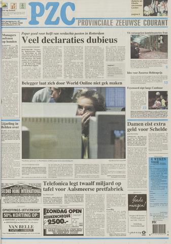 Provinciale Zeeuwse Courant 2000-03-18
