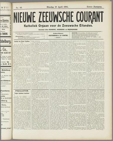 Nieuwe Zeeuwsche Courant 1905-04-18