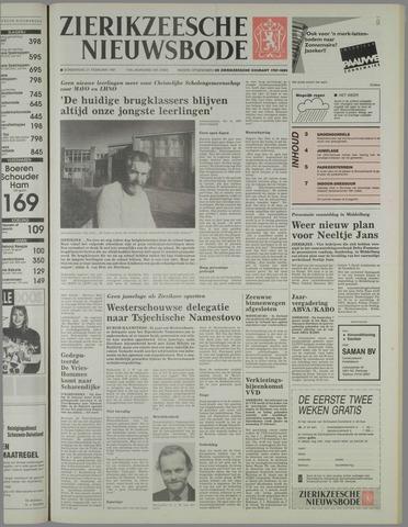 Zierikzeesche Nieuwsbode 1991-02-21