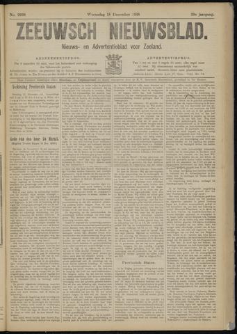 Ter Neuzensch Volksblad. Vrijzinnig nieuws- en advertentieblad voor Zeeuwsch- Vlaanderen / Zeeuwsch Nieuwsblad. Nieuws- en advertentieblad voor Zeeland 1918-12-18