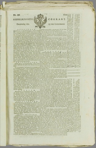 Middelburgsche Courant 1810-03-15