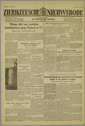 Zierikzeesche Nieuwsbode 1959-01-08