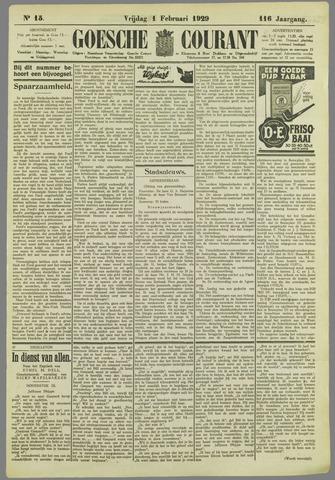 Goessche Courant 1929-02-01