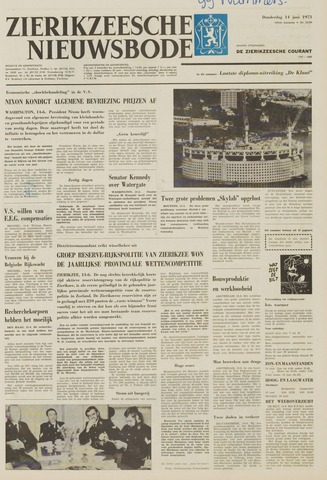 Zierikzeesche Nieuwsbode 1973-06-14