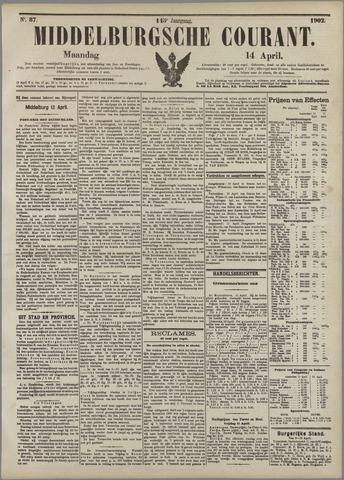 Middelburgsche Courant 1902-04-14
