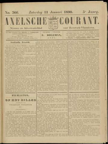 Axelsche Courant 1890-01-11