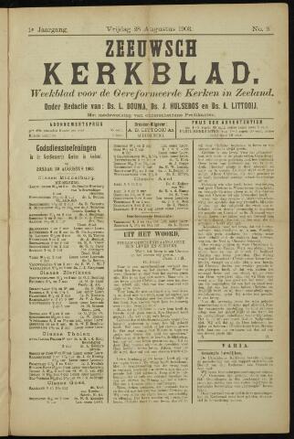 Zeeuwsche kerkbode, weekblad gewijd aan de belangen der gereformeerde kerken/ Zeeuwsch kerkblad 1903-08-28