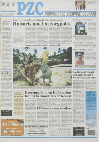 Provinciale Zeeuwse Courant 2000-12-01