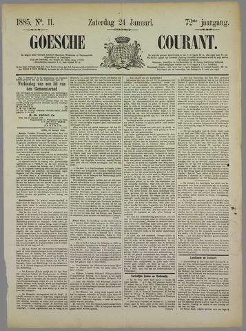 Goessche Courant 1885-01-24