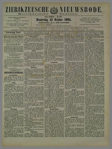 Zierikzeesche Nieuwsbode 1905-10-12