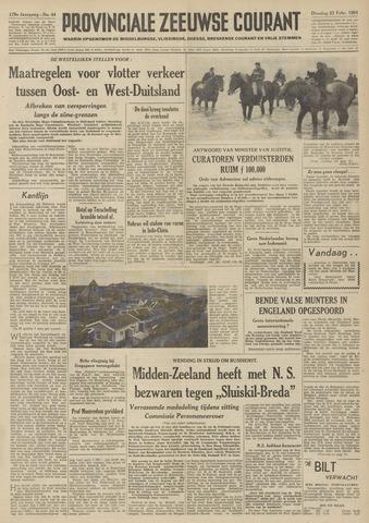 Provinciale Zeeuwse Courant 1954-02-23