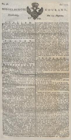Middelburgsche Courant 1776-08-15