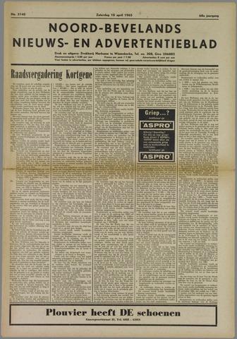 Noord-Bevelands Nieuws- en advertentieblad 1965-04-10