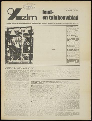 Zeeuwsch landbouwblad ... ZLM land- en tuinbouwblad 1971-01-01