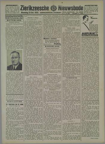 Zierikzeesche Nieuwsbode 1933-10-23