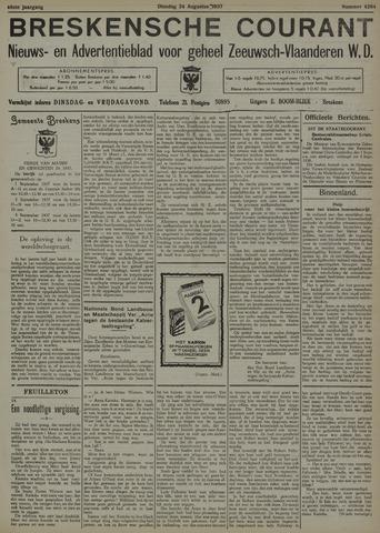 Breskensche Courant 1937-08-24