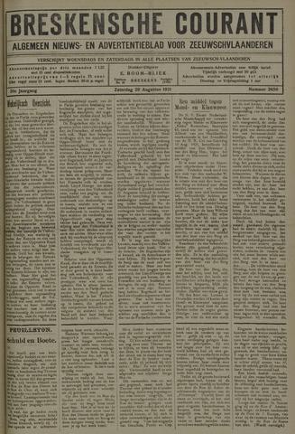 Breskensche Courant 1921-08-20