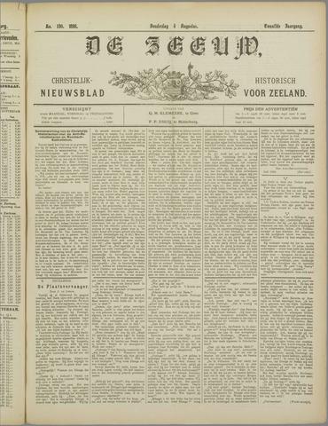 De Zeeuw. Christelijk-historisch nieuwsblad voor Zeeland 1898-08-04