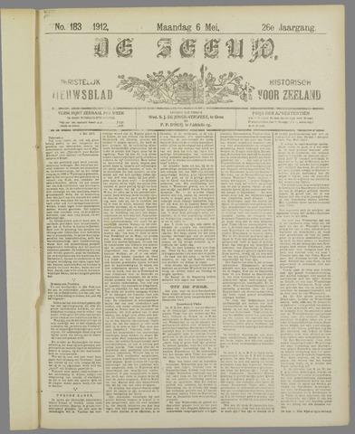 De Zeeuw. Christelijk-historisch nieuwsblad voor Zeeland 1912-05-06