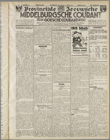 Middelburgsche Courant 1937-04-15