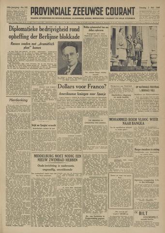 Provinciale Zeeuwse Courant 1949-05-03