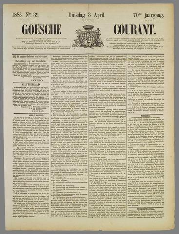 Goessche Courant 1883-04-03