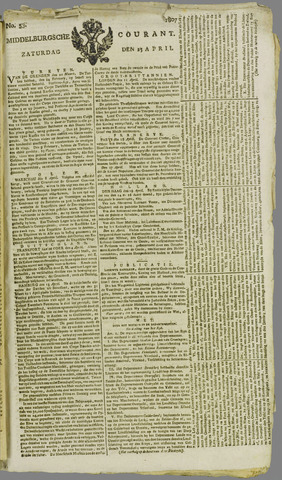 Middelburgsche Courant 1807-04-25