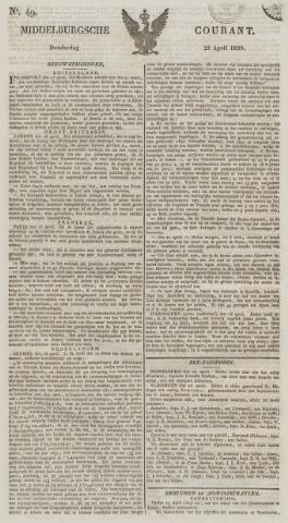Middelburgsche Courant 1829-04-23