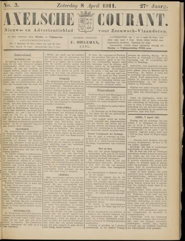 Axelsche Courant 1911-04-08