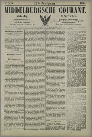 Middelburgsche Courant 1884-11-08